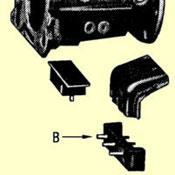 B. Thrust Pad For Closed Driveshaft