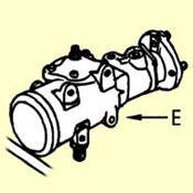 E. Power Steering Gear Seal Kit