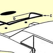 C. Trunk Lid To Body Weatherstrip