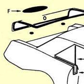 F. Trunk Lid Emblem Or Handle Pad