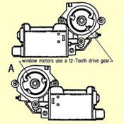 A. Window Lift Electric Motor