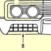 B. Front Turn & Park Lamp Lens