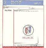 Buick Price Stickers